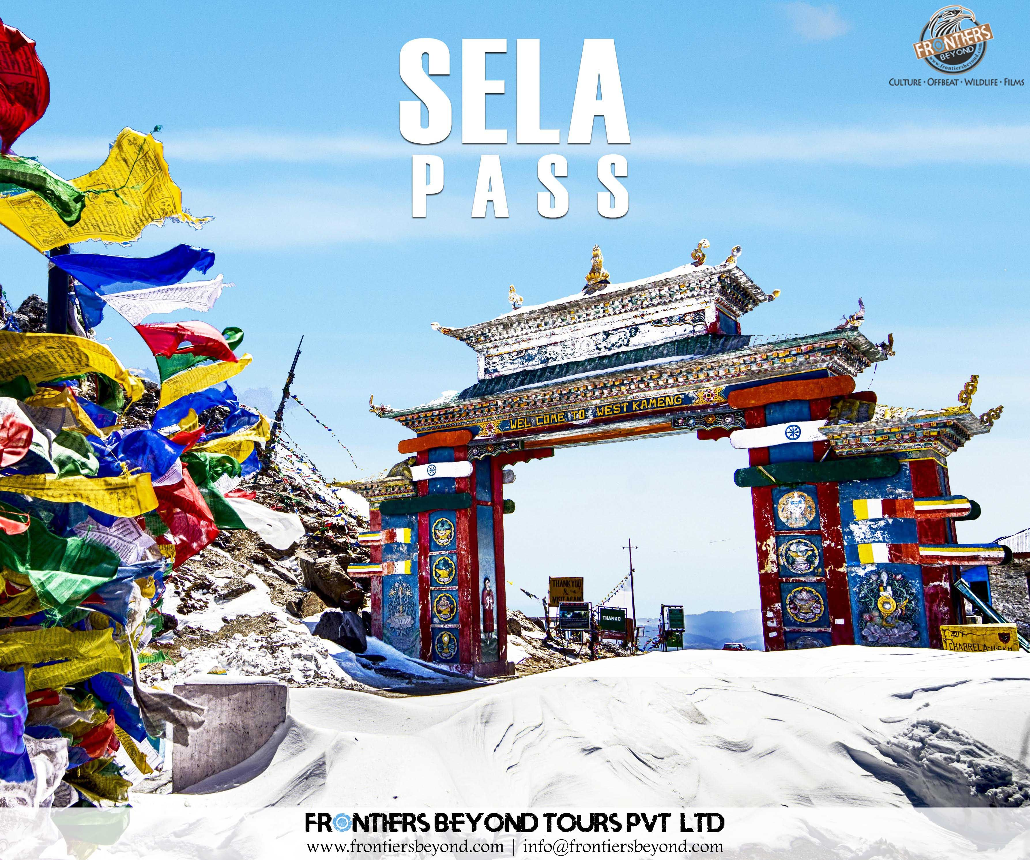 Sela pass is a highaltitude mountain pass situated at