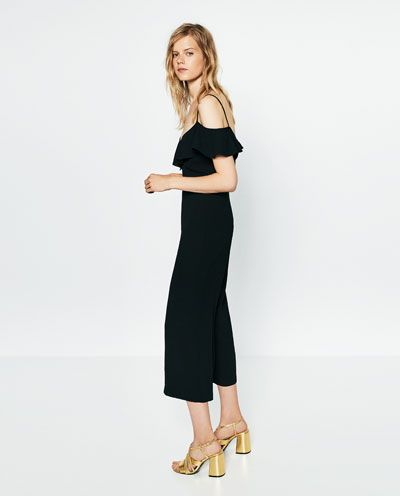 Moda Buenos precios primer nivel Imagen 3 de MONO TOBILLERO TIRANTES de Zara | * Lookbook ...