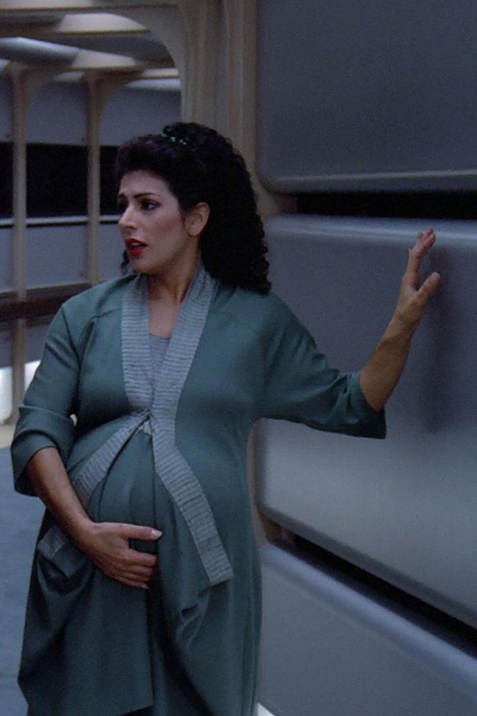 Pregnant Movie Star 55