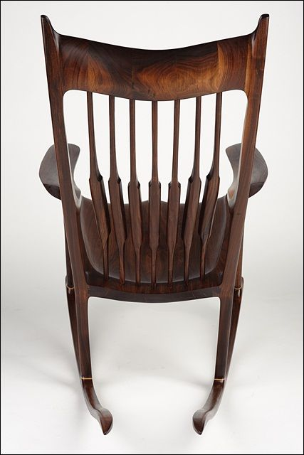 Rocking Chair Inspired By Sam Maloof With Images Wooden