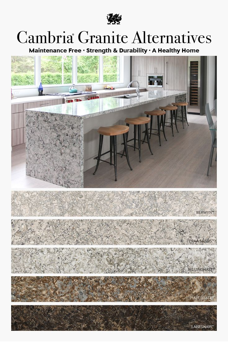 Cambria vs Granite Countertops
