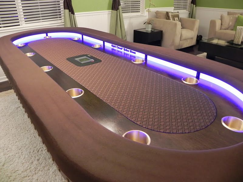 Oval Poker Table Plans