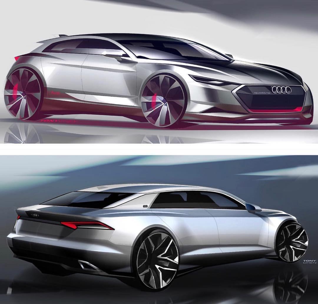 Audi A3 Sketch 2015 #a3 #quattro #a4 #a7 #a5 #a6 #audi