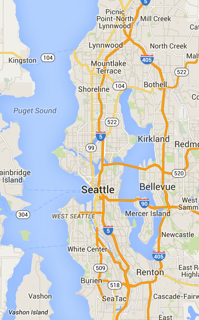 Seattle City Light power outage map | Seattle | Pinterest | Power
