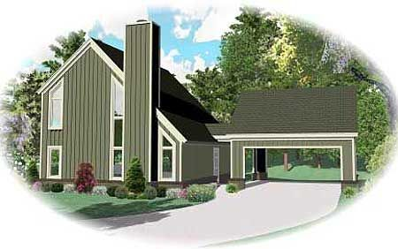 plan 58478sv contemporary home with drive through carport carport plans carport garage and contemporary - House Plans Drive Through Carport
