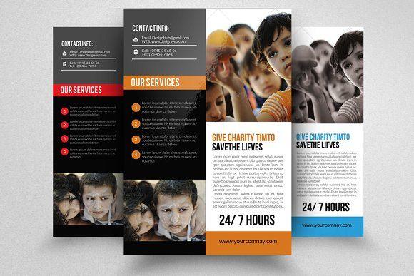 Charity Donation Flyer Photoshop Cs5 Flyer Template And Photoshop