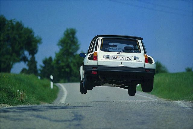 '81 Renault 5 Turbo - don't have to be rich to have fun