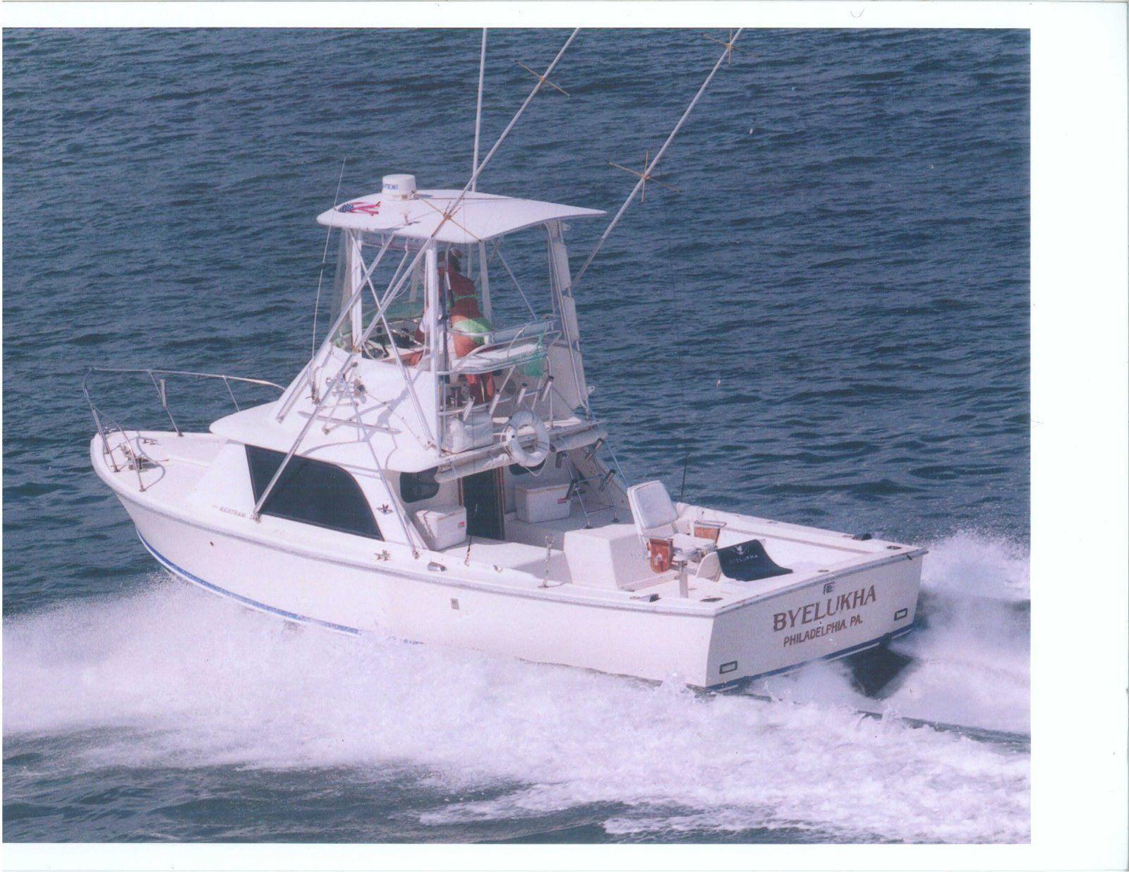 1972 31 foot Bertram Sportfish Boat eBay Fishing