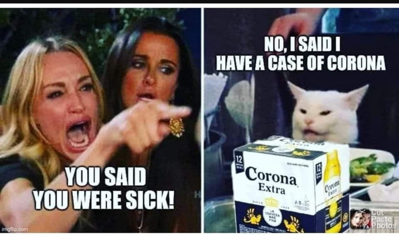 Pin By Lynetta Nausbaum On Humor Woman Yelling At Cat Karen Smudge In 2020 Funny Memes Humor Memes