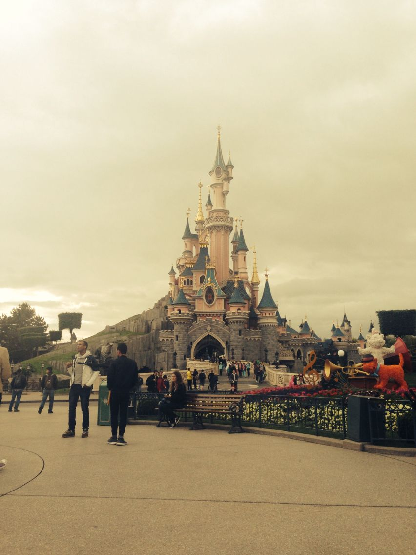 Sorry about the filter, Paris Disney