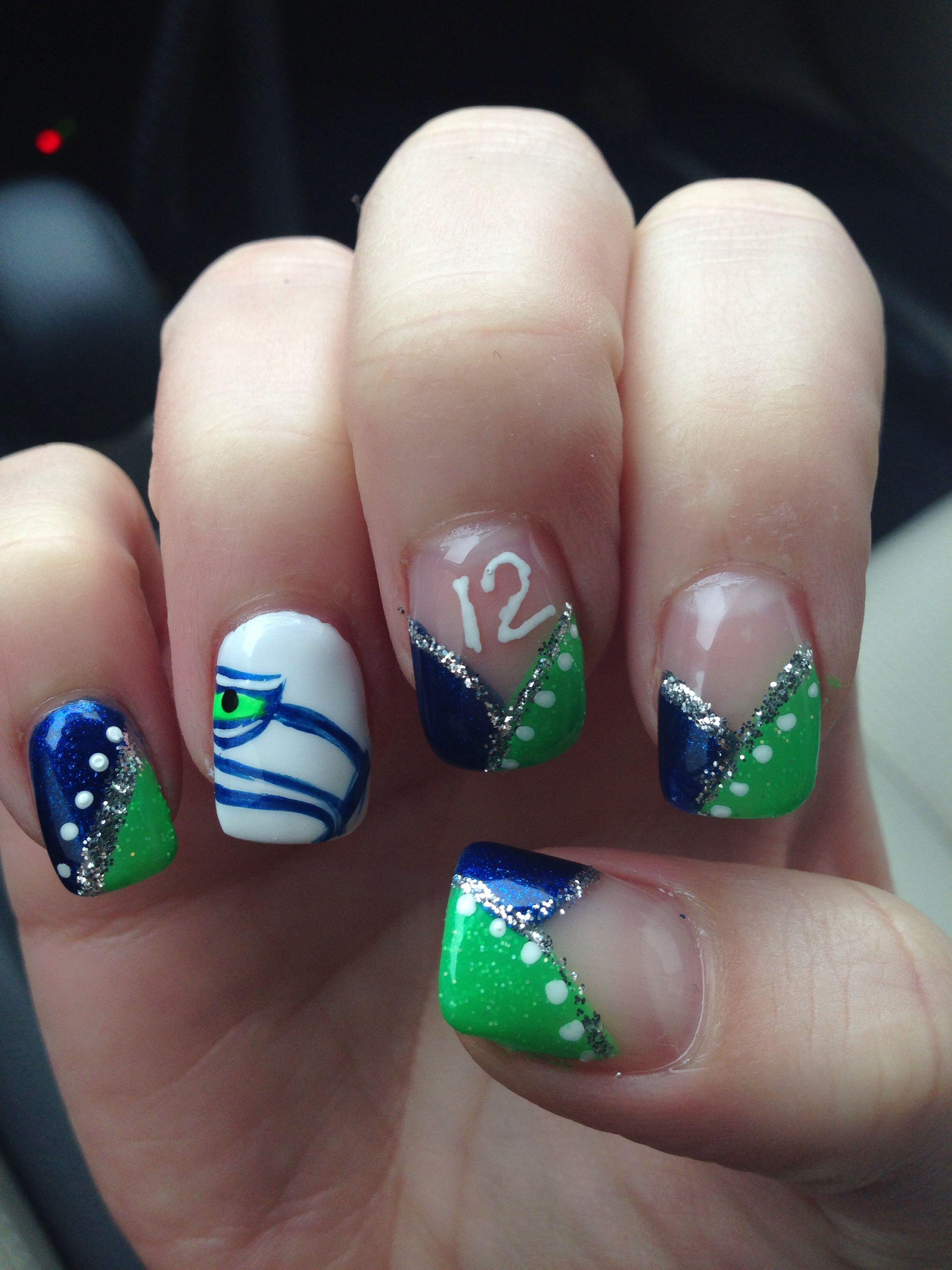 seahawk nails ' ready