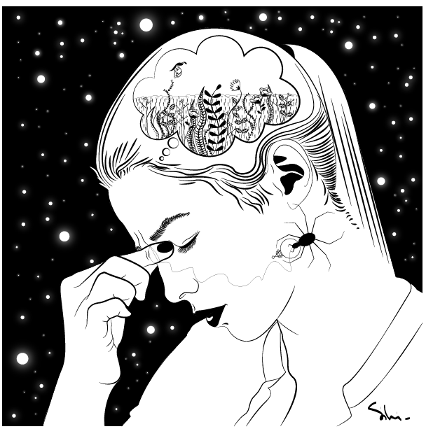 b0c4634a7ef Confused  sketch  hairstyle  photooftheday  instagood  illustrator  design   woman