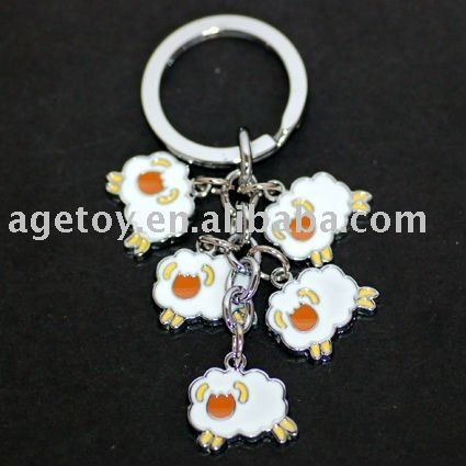 Colorful Metal Sheep Keyring - Buy Keyring Sheep,Keychain Sheep,Keyholder Sheep Product on Alibaba.com