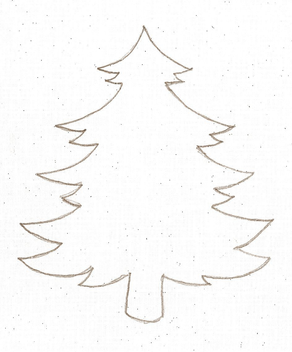 Printable Christmas Ornament Templates Christmas Tree Template To