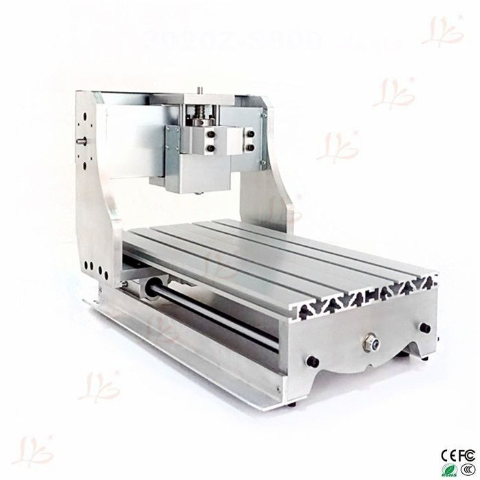 DIY CNC frame for CNC Engraving Machine 3020Z with ball screw ...