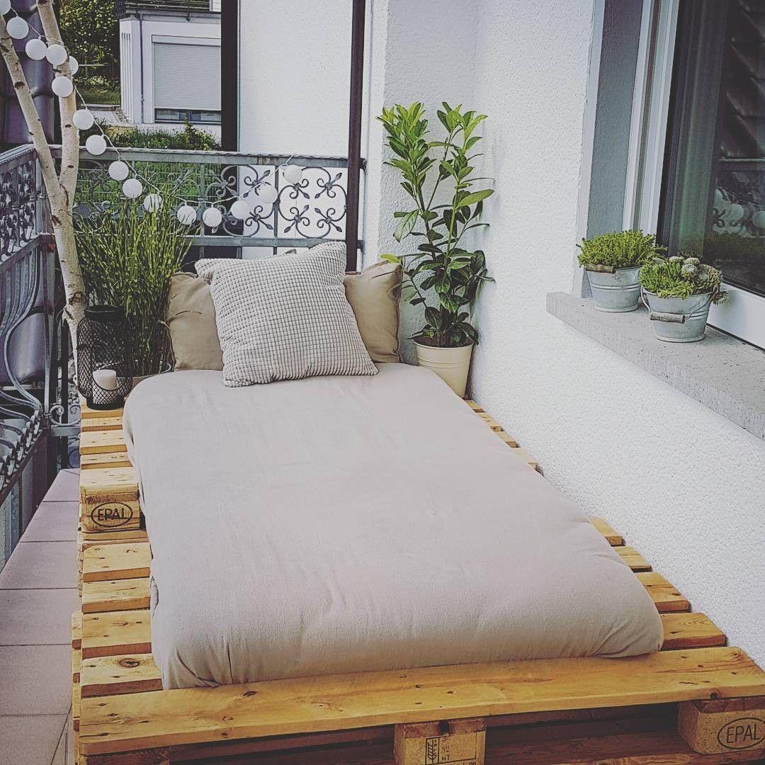 Palettenmöbel do it yourself! Balkon Palette