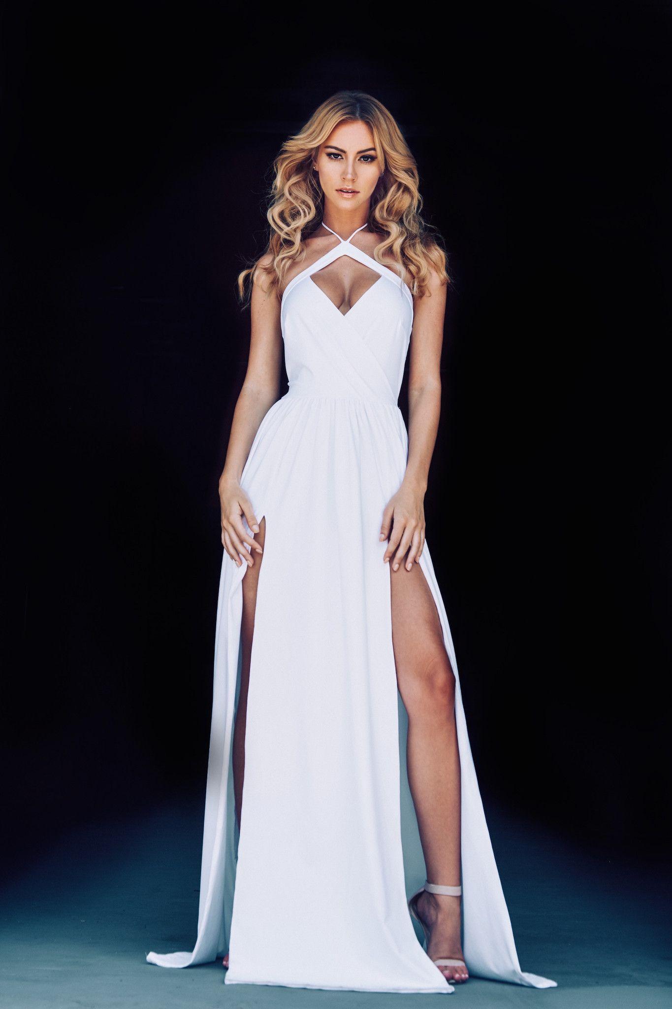 Halter neck wedding dress - Lurelly Bridal Wedding Dress | fabmood.com