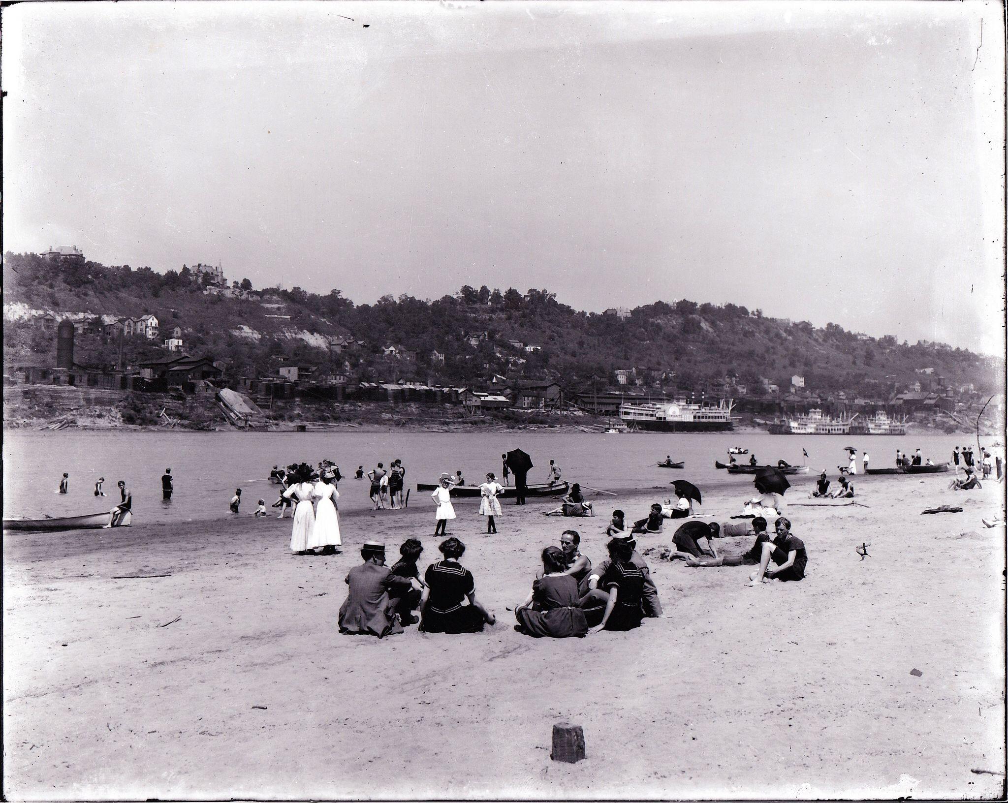 River Beach Cincinnati Ohio The