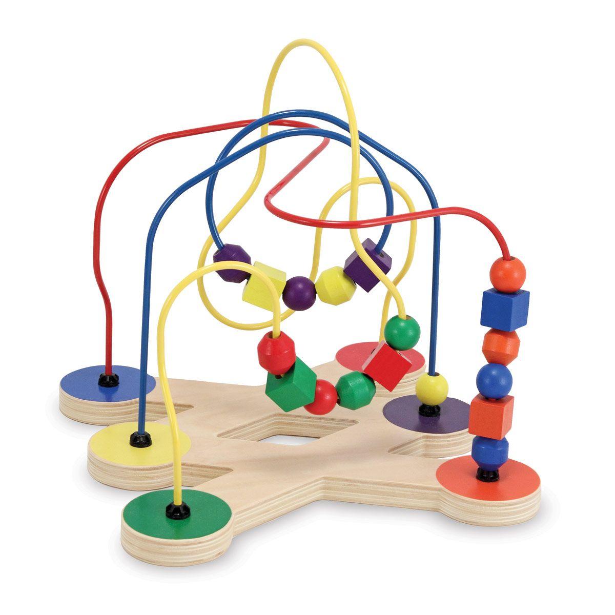 Boulier labyrinthe perles pour enfant de 1 an 3 ans - Perle pour enfant ...