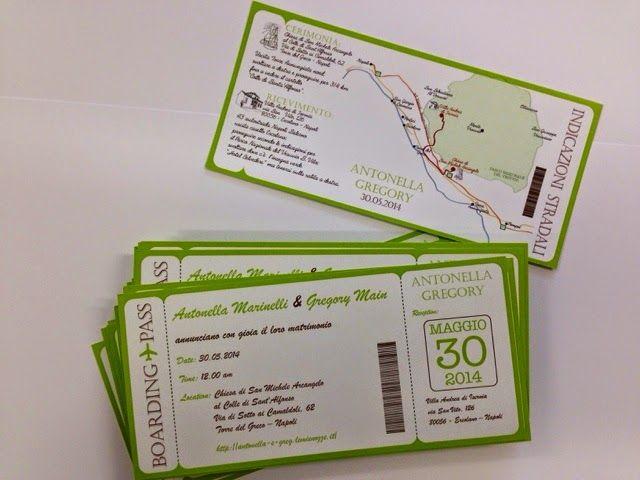 Marta Paper Design Biglietti Aerei Come Invito Partecipazione Biglietti Aerei Matrimoni A Tema Viaggio Inviti