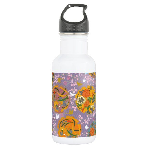 Photo of Origami Birds Stainless Steel Water Bottle