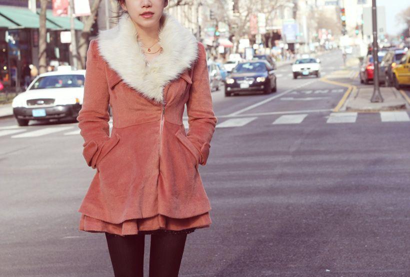 westminster flare coat  prettydna.com