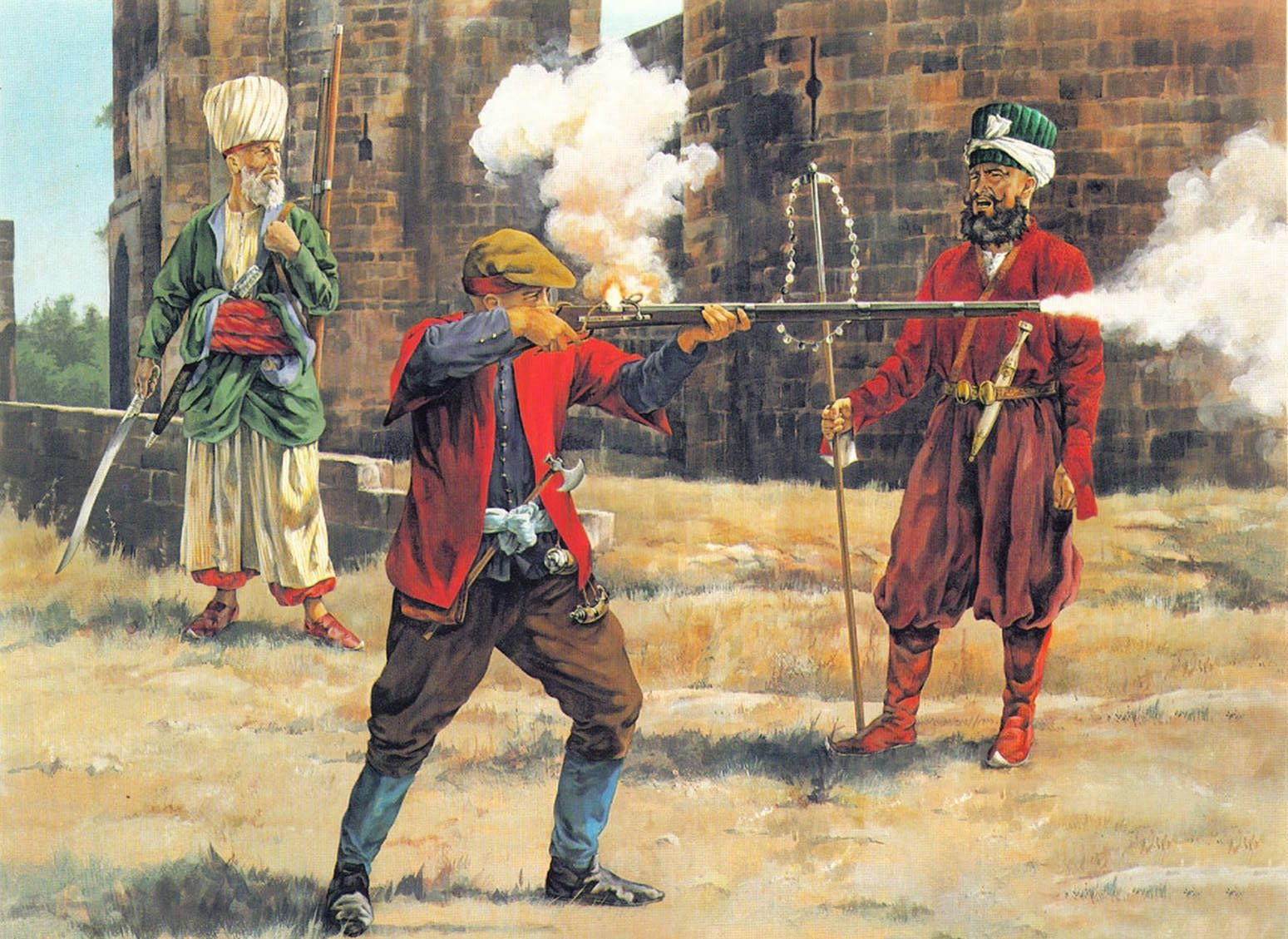 the janissaries of the ottoman turkish empire Militarily the ottoman empire was changing the janissaries had been the heart of the ottoman army and the rise and fall of the turkish empire, by lord.