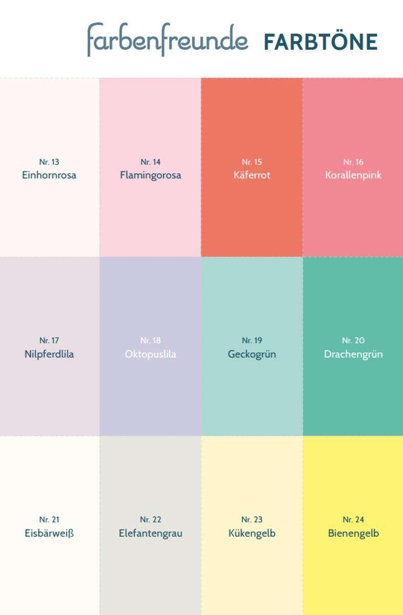 Alpina Farbenfreunde 2 5 L Kinderzimmer Farben Keine