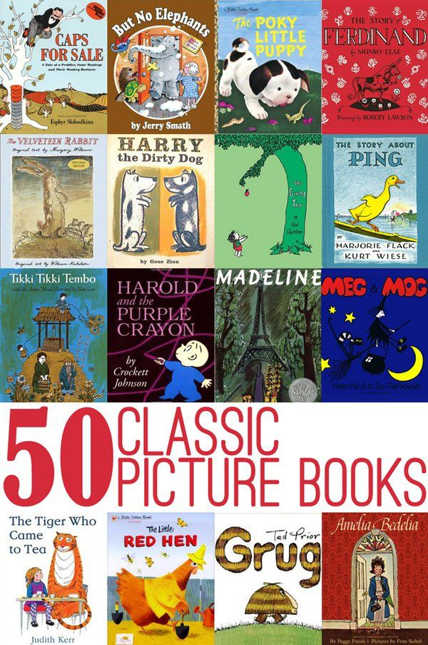 50 Classic Picture Books to Read with kids | Preschool ...