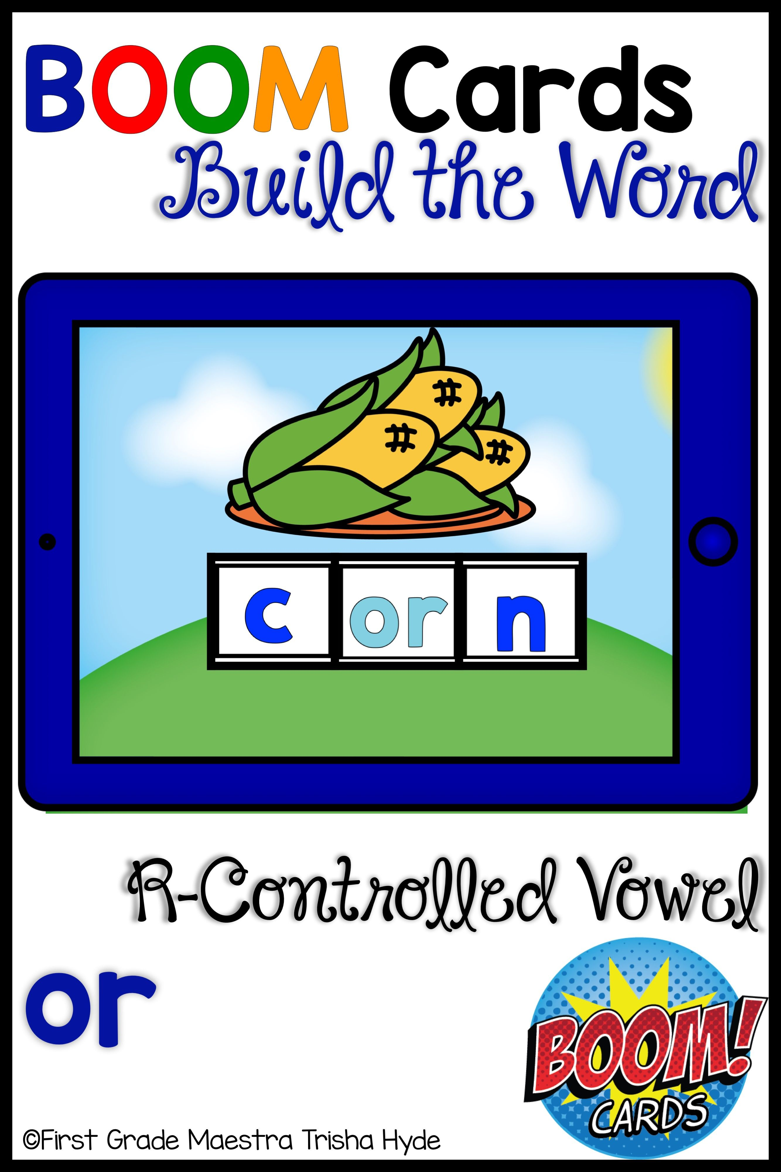 Boom Cards R Controlled Vowel Or Build A Word
