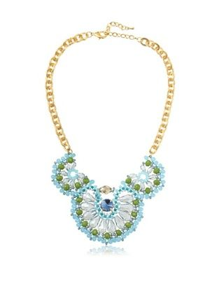 Leslie Danzis Multi Strand Beaded Wrap Necklace
