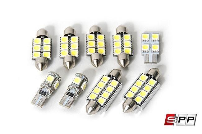 RFB Interior LED Light kit, Volkswagen Mk6 Jetta/GLI, Complete Set