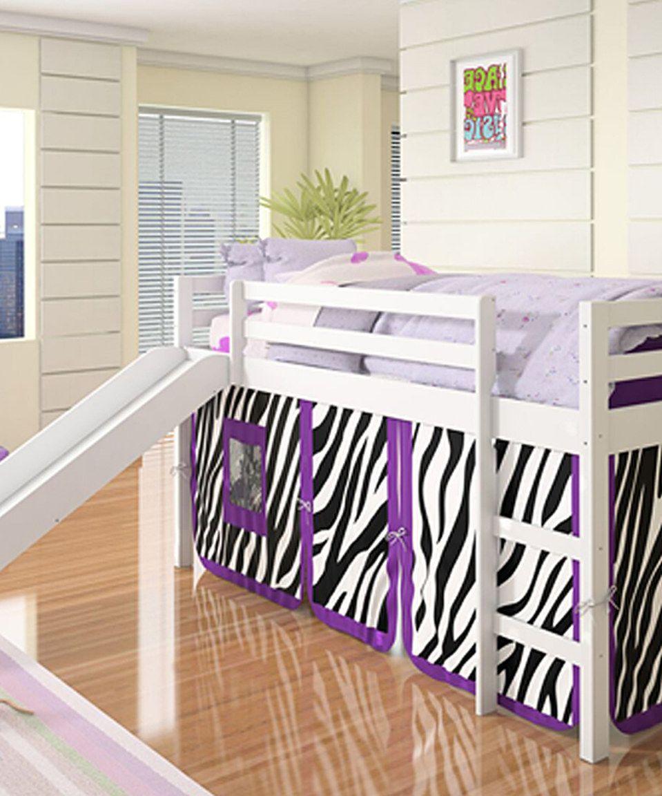 Loving this Donco Kids White Zebra Tent Mission Low Loft
