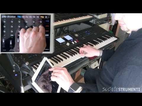 Roland BK-9 e l'app Performance Editor, per gestire lo strumento in remoto - Suoni e strumenti