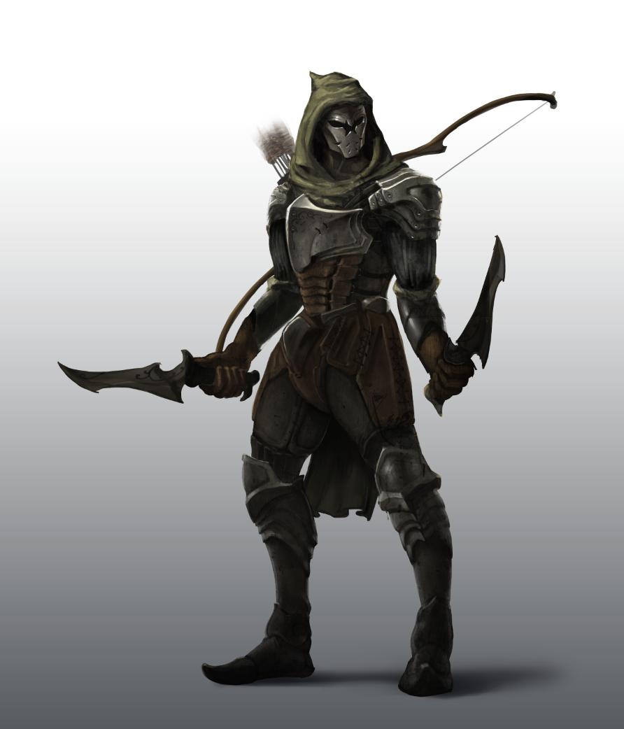 ranger_by_josheiten-d540ujm.png (892×1042) | fantasy au ...