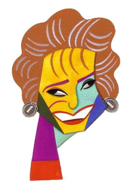 Barbara Walters by David Cowles
