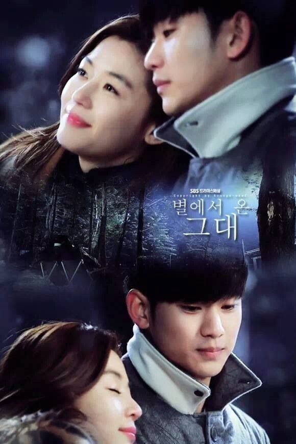 My Love From the Star Jun Ji Hyun & Kim Soo Hyun I love this drama it made me laugh,cry, and wish I met a alien like Kim Soo Hyun