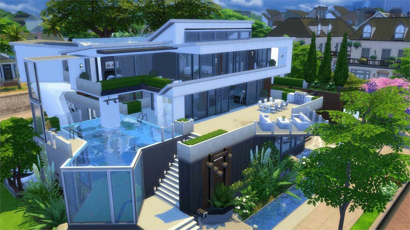 Epingle Par ͕˜ë£¨ì'´ì´ Life Sur Pokoje Maison Sims Maison Sims 3 Sims 4 Maison