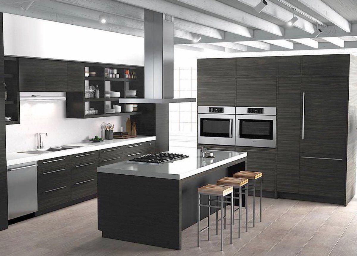 Simple Clean Modern Bosch Bosch Kitchens In 2019
