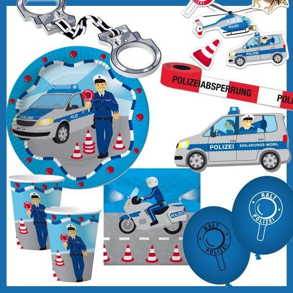 Polizei Box Polizei Geburtstag Polizei Party Polizei