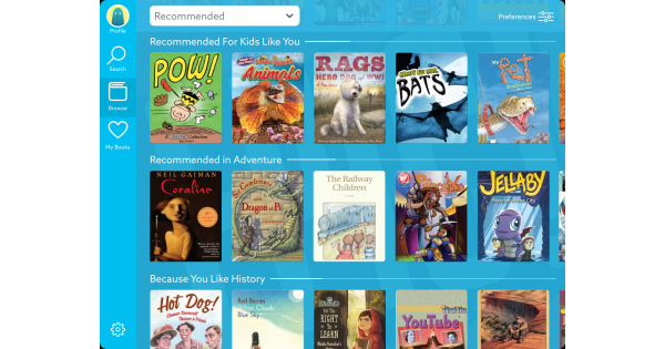 Epic! Unlimited Books for Kids App Review Kids app