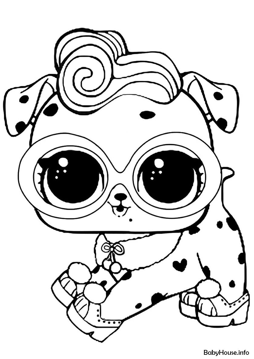 Dollmation High Quality Free Coloring From The Category L O L Pets More Printable Pictures On Our Unicorn Coloring Pages Cute Coloring Pages Coloring Pages