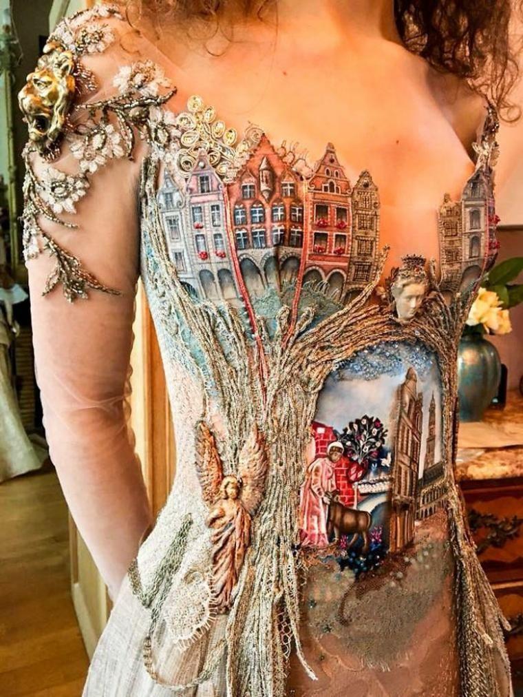 Schöne Kleider inspiriert von Geschichte und Architektur #beautifularchitecture
