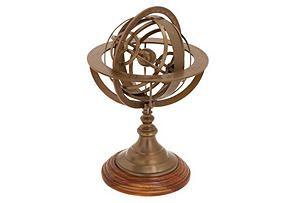 "11"" Armillary Sphere"