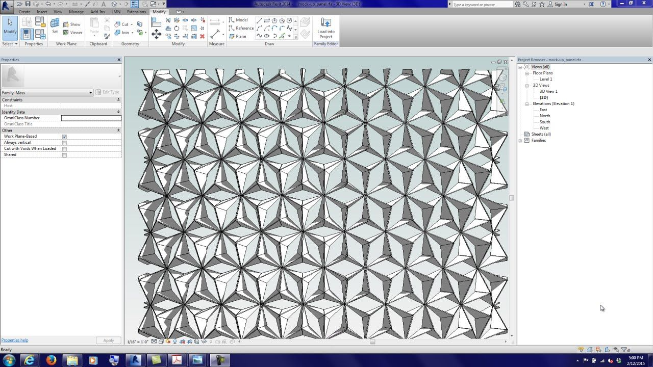 20150212 Computational Practice Lab 06 091 | REVIT