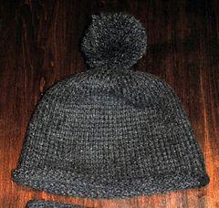Ravelry: Tuque au crochet tunisien (Tunisian crochet hat) pattern by Caroline Coutu