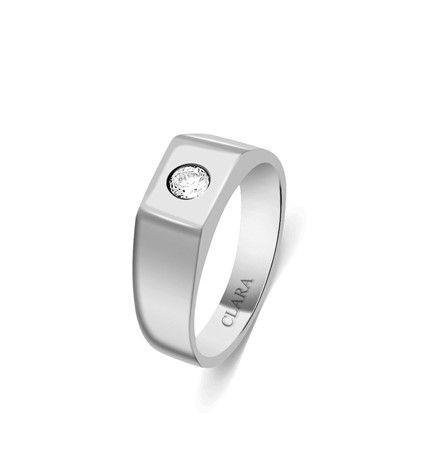 b8b8f767c3e0 Thomas Sterling Silver Swarovski Ring - CSWZR69  silver jewellery ...