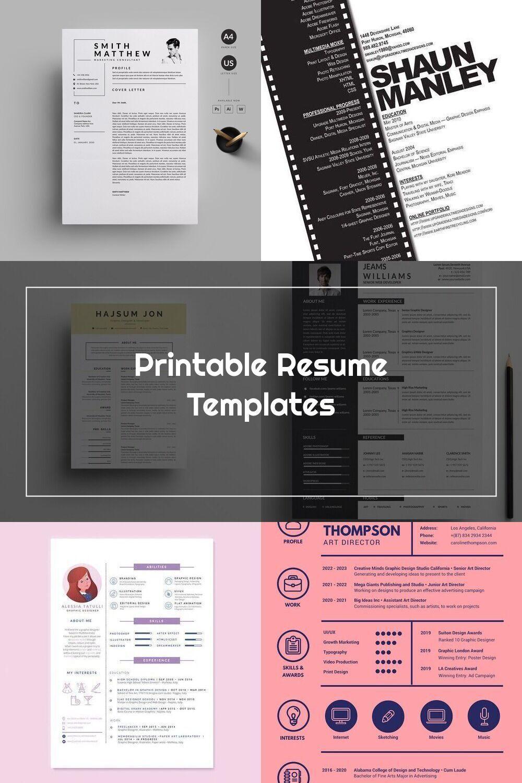 Pin On Graphic Designer Resume