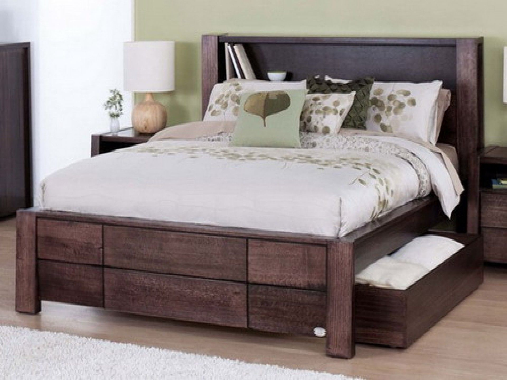 Image result for captain bed king house ideas