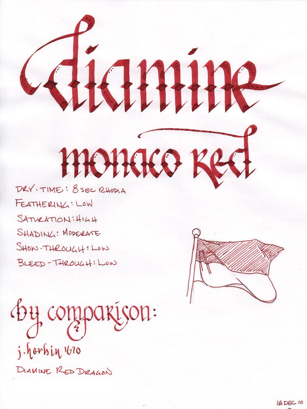 Diamine Monaco Red